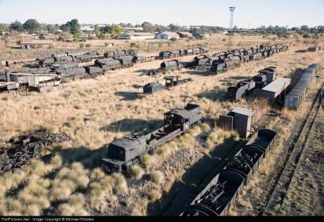 Rhodesia Railways locomotive graveyard, Bulawayo