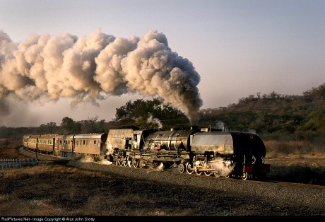 Rhodesia Railways 20th Class Garrett.....what a majestic beast!