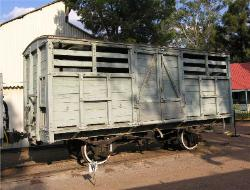 Rhodesia Railways short cattle wagon