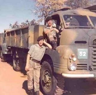 Rhodesian Army Bedford RL